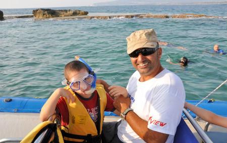 טיולי שייט ספארי ים בצפון - שנקרול מודרך
