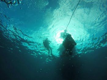 צלילת רענון בצפון - הים התיכון