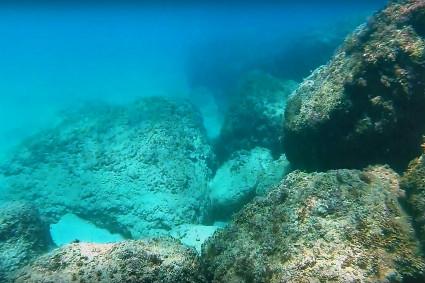 צלילה בחוף שמורת אכזיב - מערות אכזיב 8