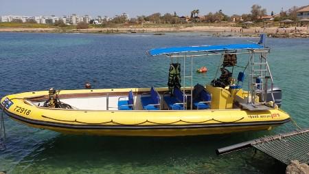 סירת טורנדו ספארי ים צהובה